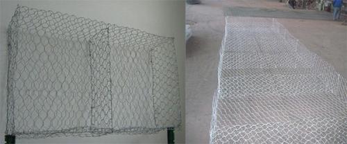 为大家分享编织雷诺护垫的材料
